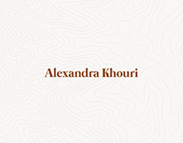 KHOURI - Identity and Website