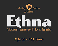 ETHNA FONT FAMILY