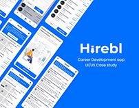 Hirebl - UI/UX Case study