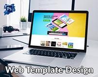 Apollo Website Home Page Design