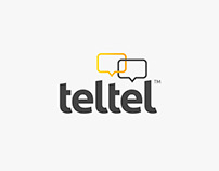 Teltel - Logotype and Visual Identity Design
