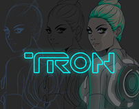 TRON LEGACY Fan Arts