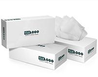 TISSUE BOX MOCKUP - 200 PLY - ENVATO