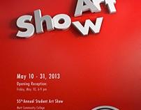 Mott Community College Student Art Show Poster