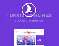 TURKISH AIRLINES Booking App Redesign