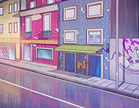 TV Animated Series Background Art