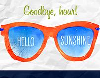 CHL Spring Forward Postcard & Social Media Post