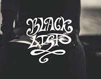 Black List/Hand-lettering