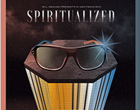 Poster: Spiritualized at the Fillmore SF