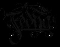 """""""Fedya"""" logo design/lettering"""