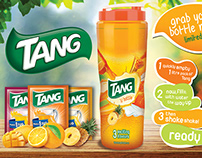 Print Ad of Tang - One Liter Bottle