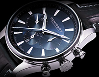 Barracuda. Watch design.
