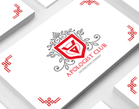 Logo and identity for Apologist Club