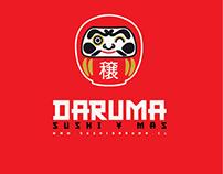 Daruma Sushi Diseño de Imagen Corporativa