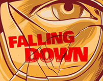 """Falling Down"" Alternative Movie Poster"