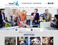 Trade Assist Australia - Custom Web Design