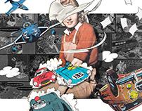 Collage Artwork 316-318