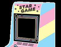 Star Game Arcade Machine