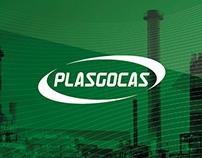 PLASGOCAS Visual identity
