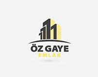 Özgaye Emlak Logo & Kurumsal Kimlik