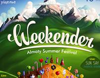 Weekender festival