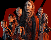 Marvel's Agents of Shield: Slingshot - Key Art