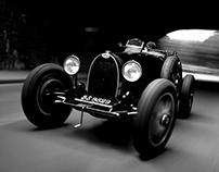 Vintage Car rig shots