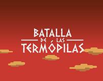 Batalla de las Termópilas (motion graphics)