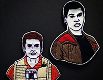 Star Wars Patch - Finn and Poe Dameron