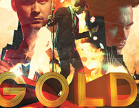 Bo Saris: Gold - Album Artwork