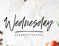 Wednesday Vibes - Handwritten Font