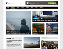 Newsri - Magazine PSD Template