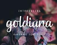 Goldiana - Font Script