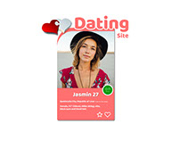 Dating site concept