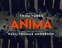 ANIMA, Paul Thomas Anderson, Thom Yorke, Teaser,Netflix