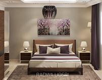 Modern hotel room design