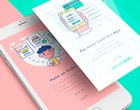 Restaurant Illustrations *Onboarding Screens