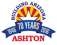 Ashton 70th Anniversary Mark