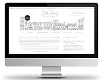 WEBSITE RE-DESIGN - Just Living Interiors