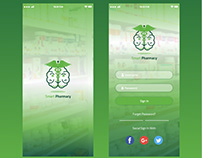 Mobile App UI\UX Design for Smart Pharmacy