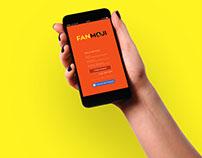 Mobile App Design: Fanmoji