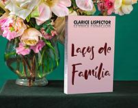"""Capa do livro """"Laços de Família"""" - out/2018"""