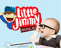 Little Jimmy | Landing page