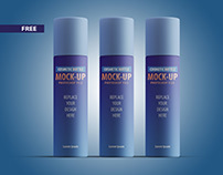 06_Free Cosmetic Bottle Mockup