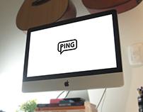 4. Ping | Thirty Logos Challenge