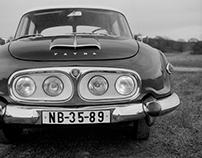 Tatra 603 sketches