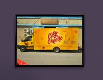 C'est Cheese Truck Branding