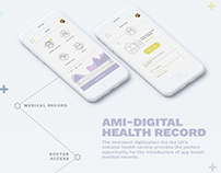 Ami - Medical app design