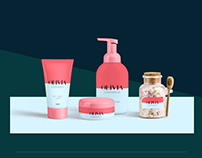 Olivia Cosmetics Branding
