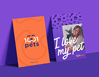Branding 1001 Pets